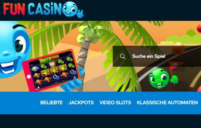 Fun Casino Übersicht, Bonus und beste Spiele